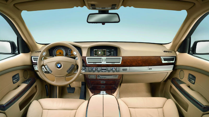 Bmw 7 Series Interior Pictures. Interface for BMW 7 Series