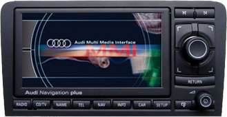 dvb logic dvb t tuner interface for audi rns e navigation media in motion. Black Bedroom Furniture Sets. Home Design Ideas
