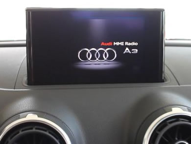 reverse camera interface for audi a3 models with mmi radio mmi plus systems media in motion. Black Bedroom Furniture Sets. Home Design Ideas
