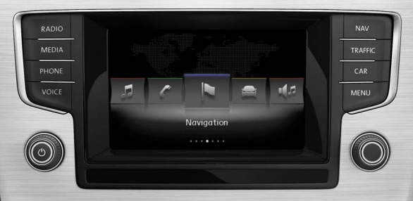 reverse camera interface for vw models with mib standard. Black Bedroom Furniture Sets. Home Design Ideas