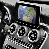 reverse camera interface for mercedes models with comand. Black Bedroom Furniture Sets. Home Design Ideas