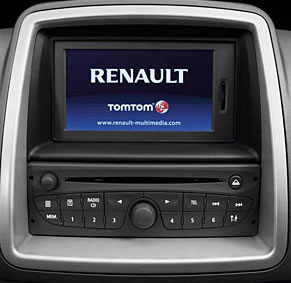 reverse camera interface for renault models with tomtom. Black Bedroom Furniture Sets. Home Design Ideas
