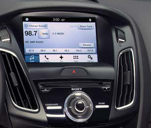 v link video interface for ford vehicles with sony sync3. Black Bedroom Furniture Sets. Home Design Ideas